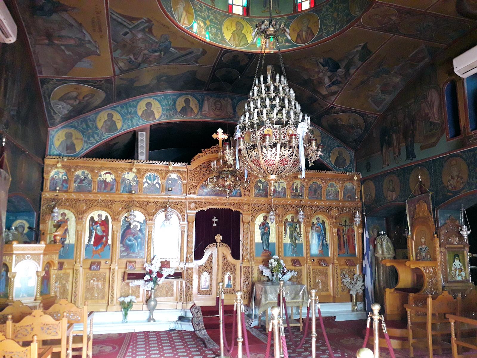 Ιερός Ναός Προφήτη Ηλία, Ενορία Ροδόπολης